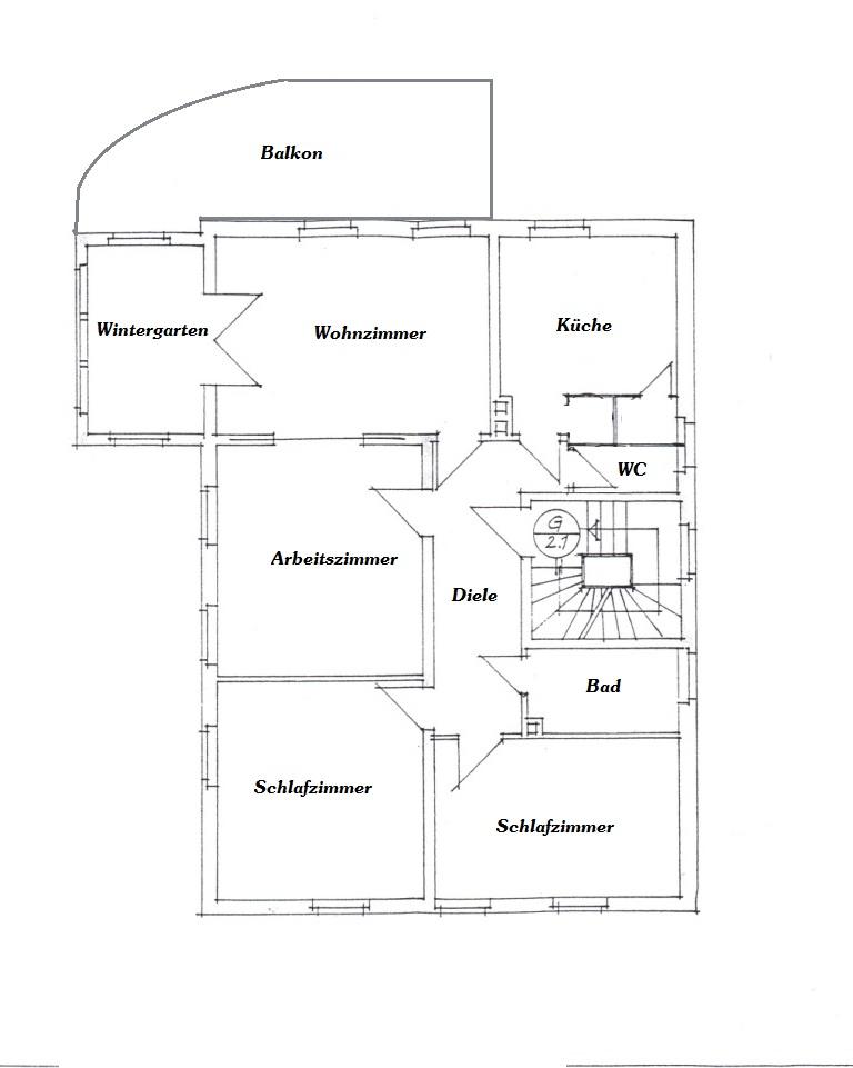 hochwertige 4 raum wohnung mit balkon wintergarten garten ca 118 m sucht ruhe liebenden mieter. Black Bedroom Furniture Sets. Home Design Ideas